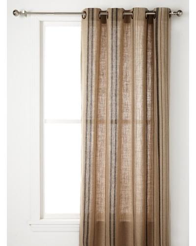 Pure Linen Stripe Panel