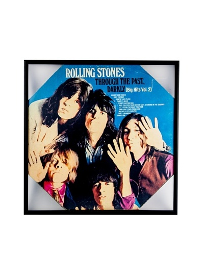 The Rolling Stones: Through The Past Darkly Framed Album CoverAs You See
