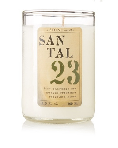 Reclaimed Bottle Santal Candle, 5.5-Oz.As You See