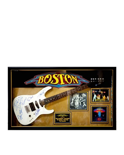 Boston Signed Squier Electric Guitar, Signed