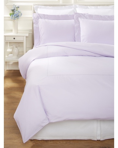 400 Thread Count Percale Duvet Cover Set [Lilac]