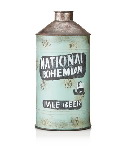 """National Bohemian"" Metal VaseAs You See"