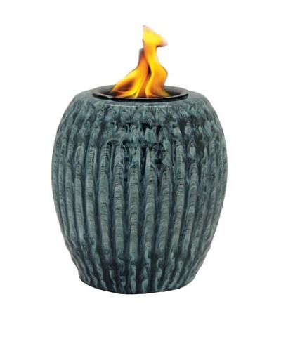 Pacific Décor Ribbed Porcelain Flame Pot