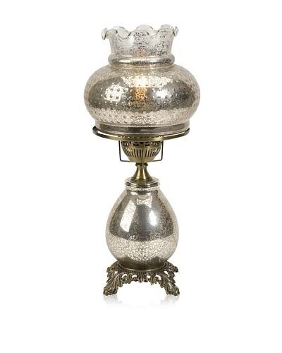 Lorena Vintage Mercury Glass Shade Lamp