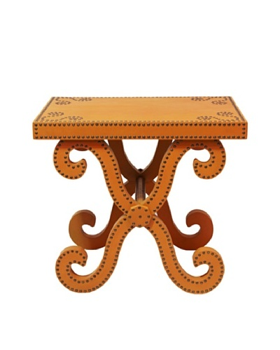 Lisbon Accent Table, Orange