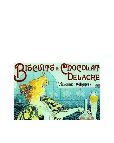 Chocolate Biscuits Giclée Canvas Print