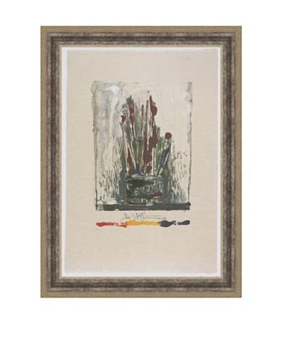 Jasper Johns: Savarin, Monotype
