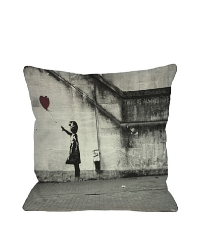 Banksy There is Always Hope II Pillow