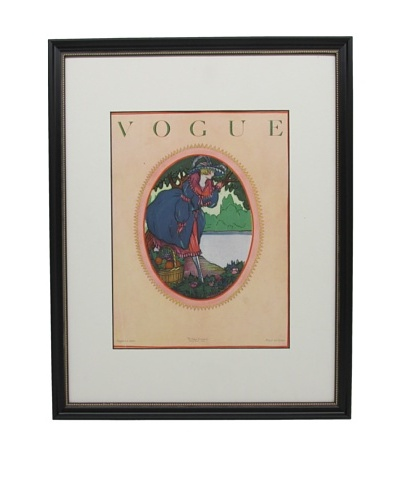 Original Vogue Cover from 1920 by Joseph Platt