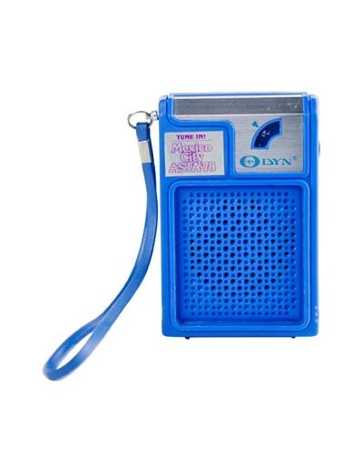 Vintage DYN Radio, Blue