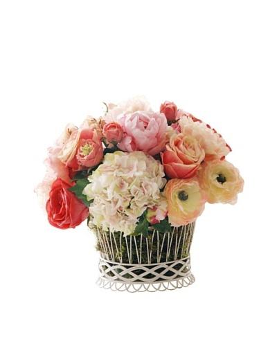 "17"" Mixed Rose Planter"