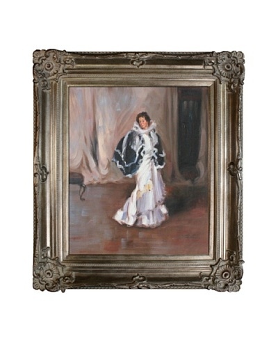 Oil Reproduction of Alfred Maurer The Black Cape, 1901As You See