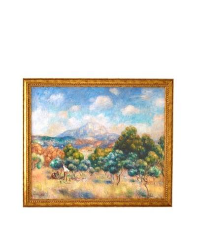 Pierre-Auguste Renoir: Mont Saint-Victoire (Paysage), 1889