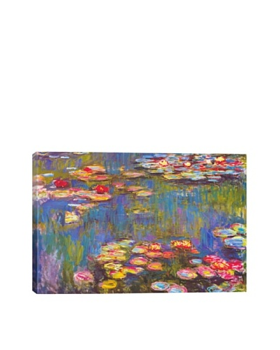 Claude Monet's Water Lilies (1916) Giclée Canvas Print