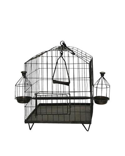 Octagon Shaped Iron Bird Cage