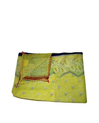 Vintage Kantha Throw Gowri, Multi, 60 x 90