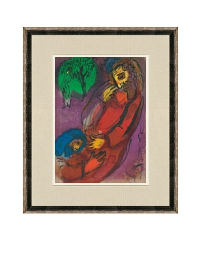 Marc Chagall: David And Absalom