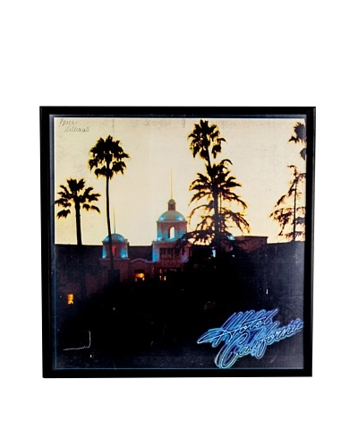 The Eagles: Hotel California Framed Album CoverAs You See