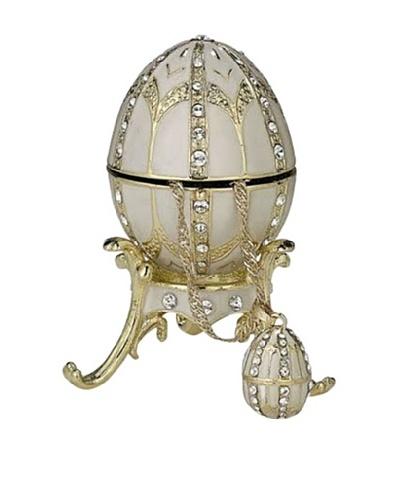 White Egg Box with Pendant