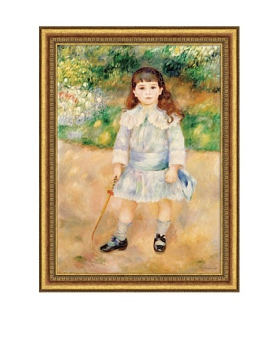Pierre-Auguste Renoir Boy with a Whip, 1885 Framed Canvas, 28 x 20