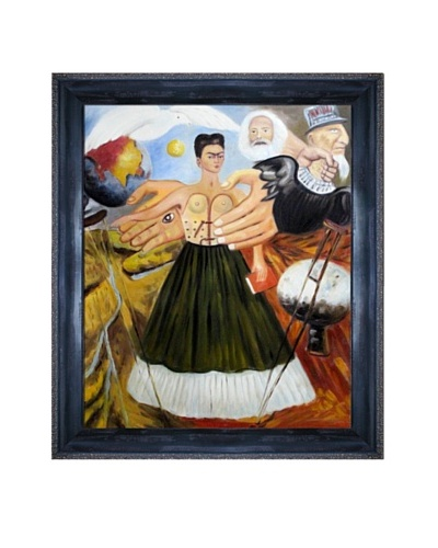 Frida Kahlo's Marxism Will Give Health to the Sick Framed Reproduction Oil Painting