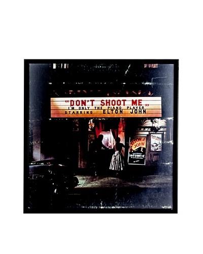 Elton John: Don't Shoot Me Framed Album Cover