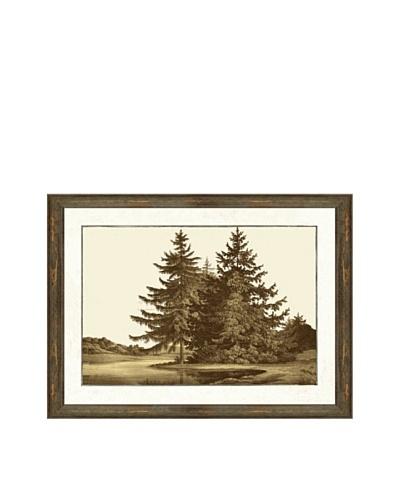 Sepia Landscape Giclée Print I