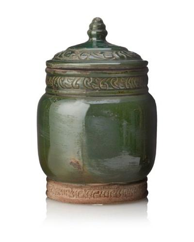 Trocadero Terracotta Lidded Jar