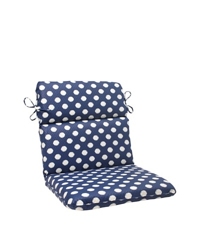 Waverly Sun-n-Shade Solar Spot Pool Chair Cushion [Navy/Cream]