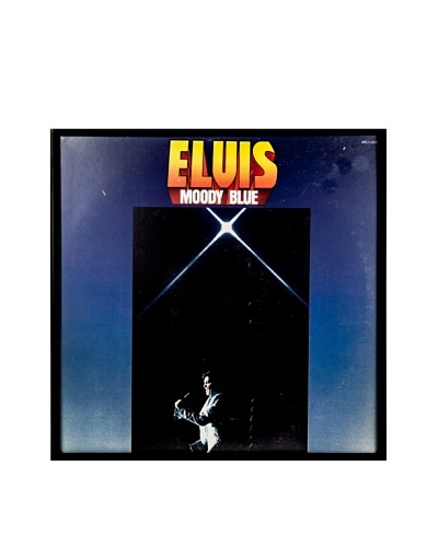 Elvis Presley: Moody Blue Framed Album Cover
