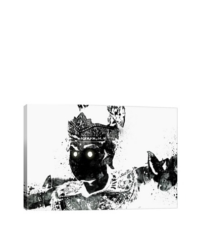 Traditional Warrior 2 by DarkLord Giclée Canvas Print