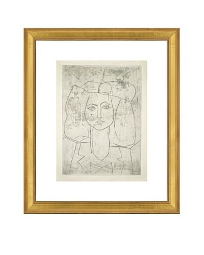 Pablo Picasso Portrait of Francoise, dressed... Framed Art