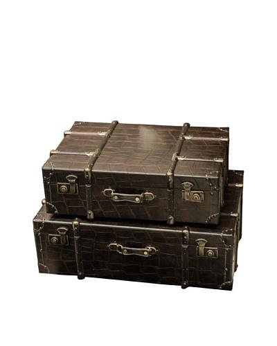 Set of 2 Luggage Boxes