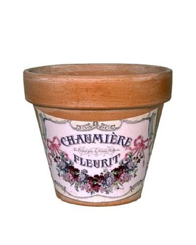Chaumiere Label Pot [Terra Cotta]