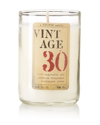Reclaimed Bottle Vintage Candle, 5.5-Oz.As You See
