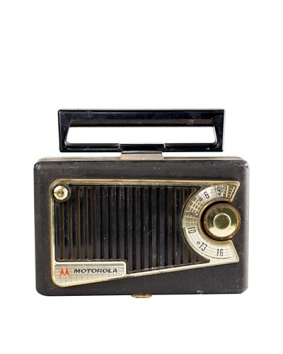 Vintage Motorola Radio, Black