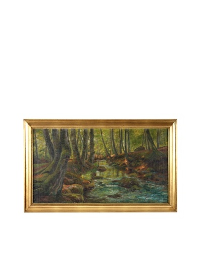 Impression, 1914 Framed Artwork