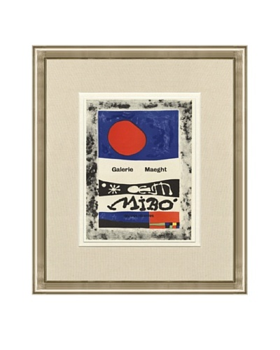 Joan Miró: Galerie Maeght Lithograph
