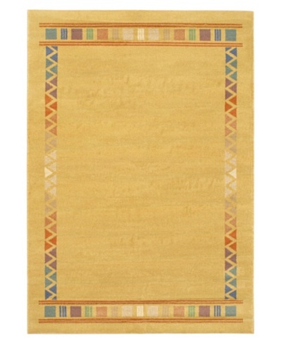 Lotus Mod Rug, Light Brown, 5' 3 x 7' 5