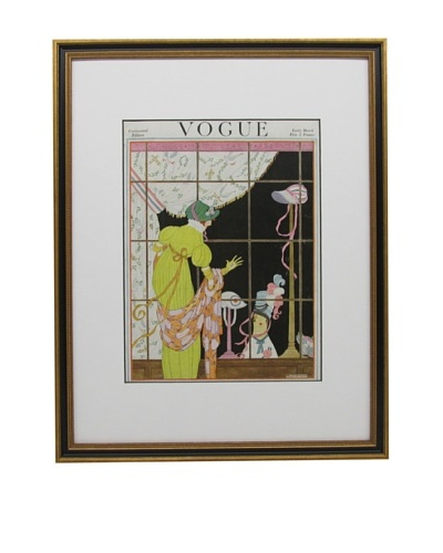 Original Vogue Cover from 1919 by Helen Dryden