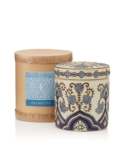 Scented Candle Jar in Gift Box, Palmette, 10-Oz.
