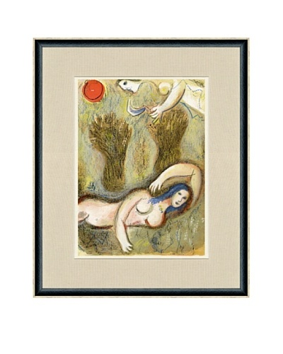 Marc Chagall: Paradise-Boaz Wakes Up and Sees Ruth At His Feet
