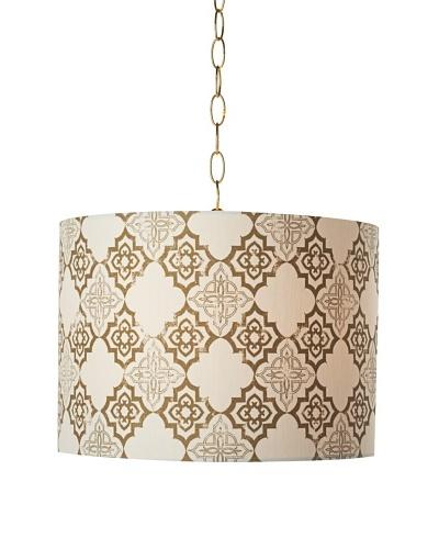 Granda Swag Pendant Light, Polished Brass