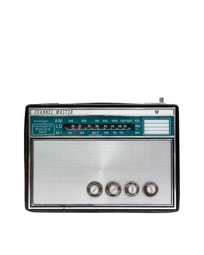 Vintage Channel Master Radio, Black