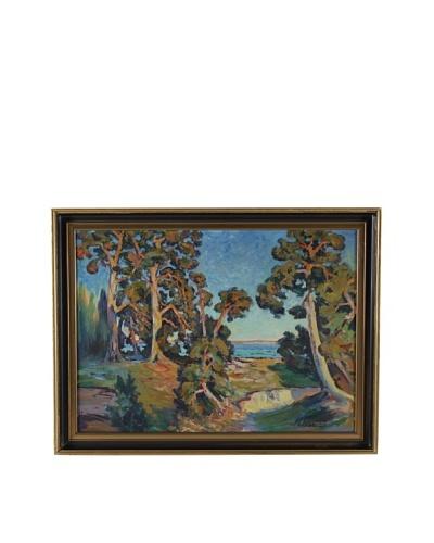 Montpellier Framed Landscape