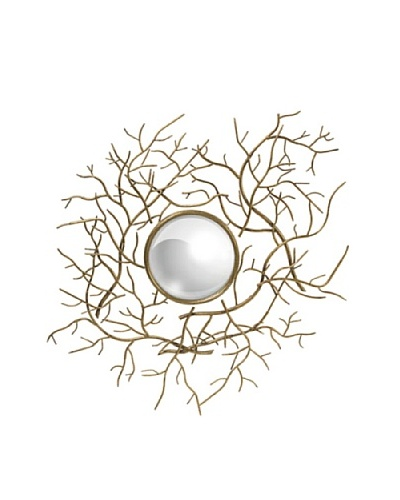 Iron Branch Wall Mirror