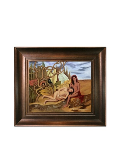 "Frida Kahlo's ""Two Nudes in the Forest"" Framed Reproduction Oil Painting"
