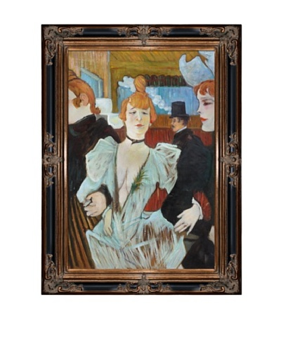 Toulouse Lautrec: La Goulue arriving at the Moulin Rouge, 1892