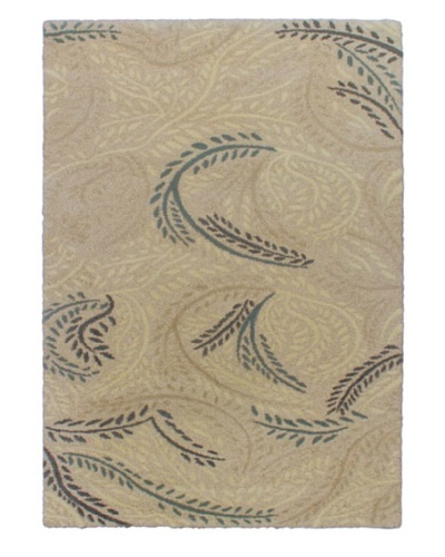 Prestige Shag Rug, Light Cream, 5' 5 x 7' 8