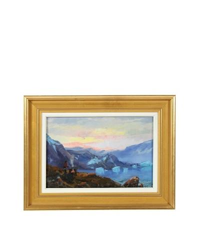 Mountains Landscape Framed Artwork